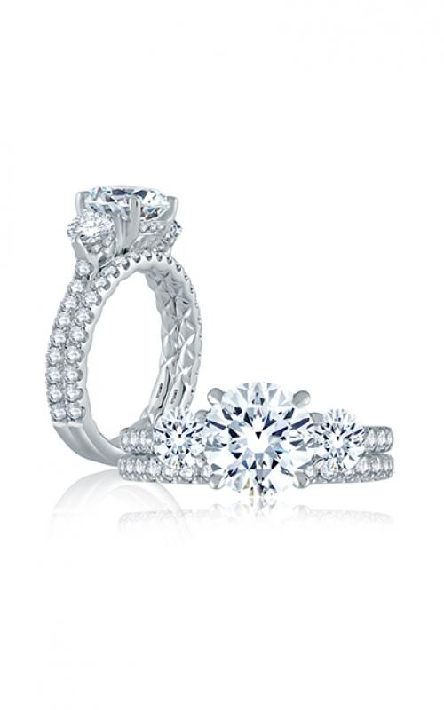 A. Jaffe Classics Engagement ring ME1871Q-308 product image