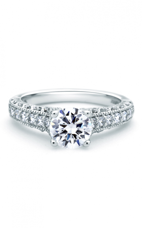 A. Jaffe Art Deco Engagement ring ME1664-137 product image
