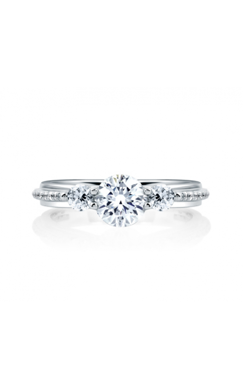 A. Jaffe Quilted Collection Engagement ring ME1666-140 product image