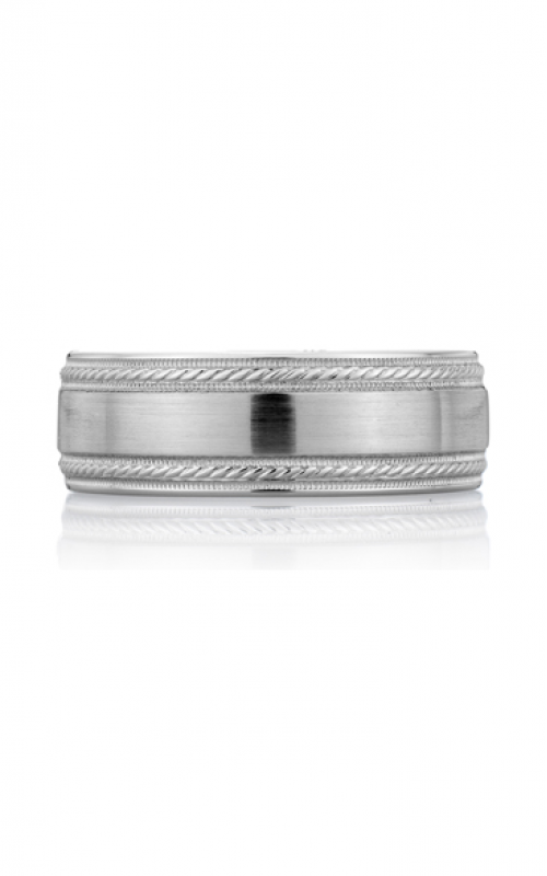 A. Jaffe Art Deco Wedding band BR3500-PL product image