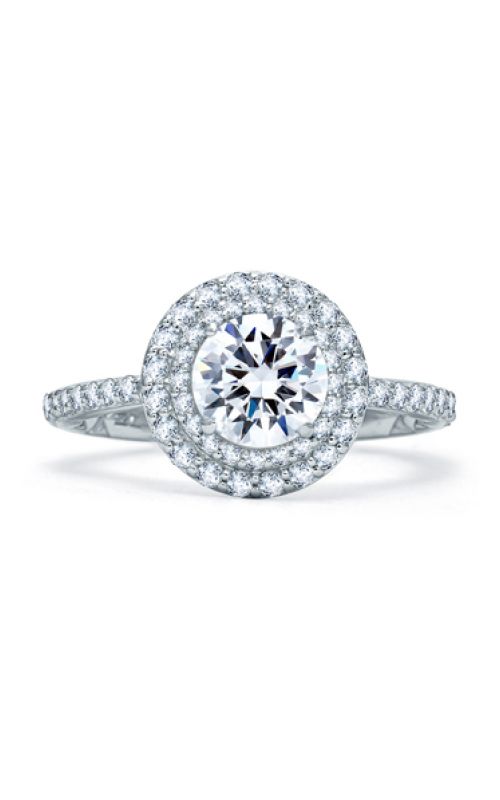 A. Jaffe Quilted Collection Engagement ring ME1866Q-159 product image