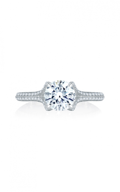 A. Jaffe Art Deco Engagement ring MES745Q-180 product image