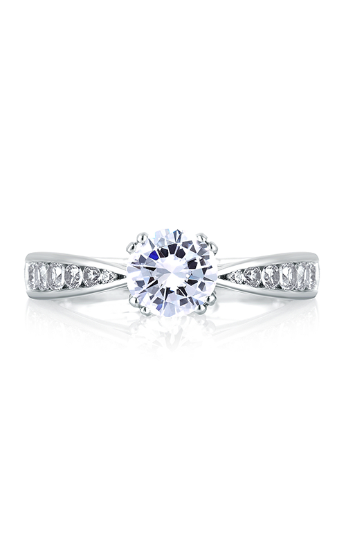 A. Jaffe Classics - 18k white gold 0.52ctw Diamond Engagement Ring, MES233-52 product image