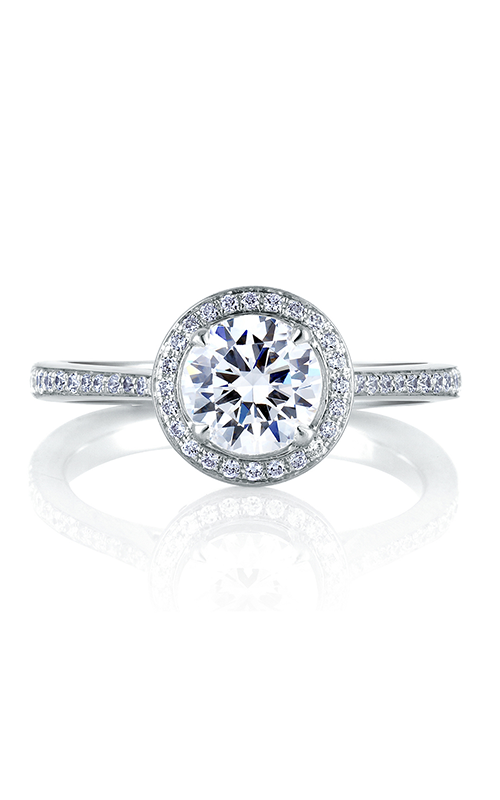 A. Jaffe Seasons of Love - 18k white gold 0.30ctw Diamond Engagement Ring, MES332-80 product image