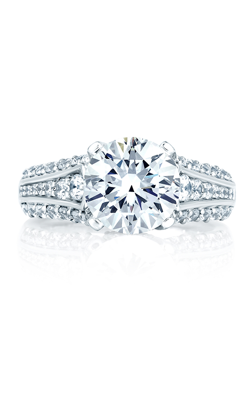 A. Jaffe Metropolitan - 18k white gold 0.60ctw Diamond Engagement Ring, MES267-160 product image