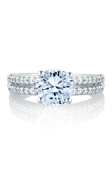 A. Jaffe Engagement ring MES103-40 product image
