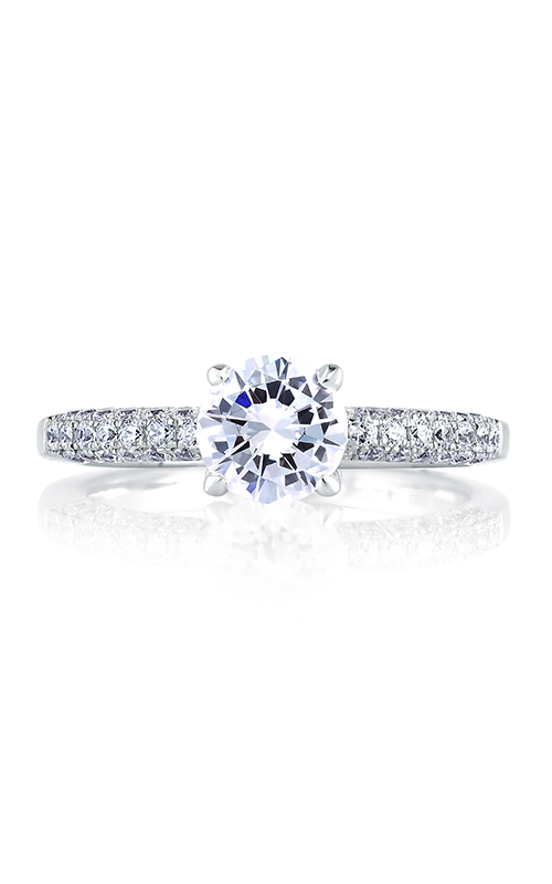 A.Jaffe Shared Prong French Pave Engagement Ring MES307-151 product image