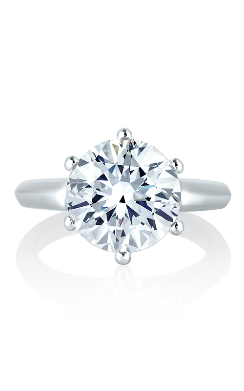 A. Jaffe Classics - 18k white gold  Engagement Ring, ME1560-100 product image