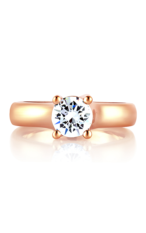A. Jaffe Classics - 18k rose gold  Engagement Ring, MES582-100 product image