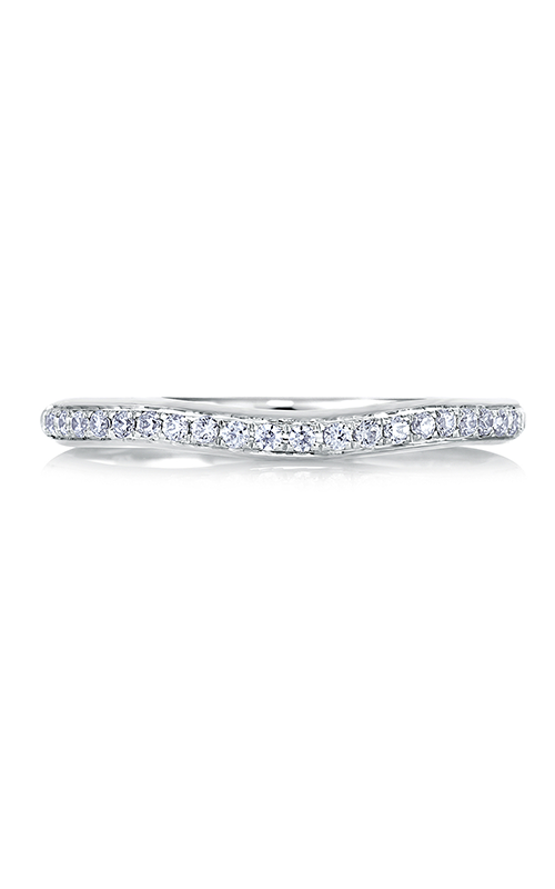 A.Jaffe Curved Pave Set Contour Band MR1564-15 product image