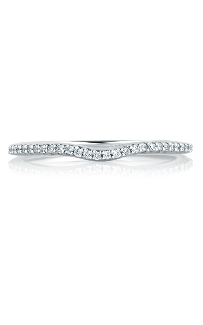 A.Jaffe Micro Shared Prongs Signature Contour Band MRS178-14 product image