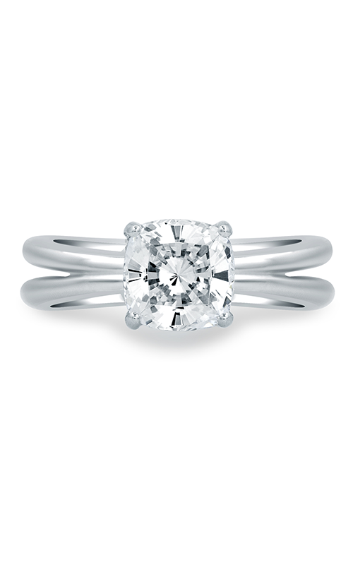A. Jaffe Seasons of Love - 18k white gold 0.08ctw Diamond Engagement Ring, MES678-208 product image