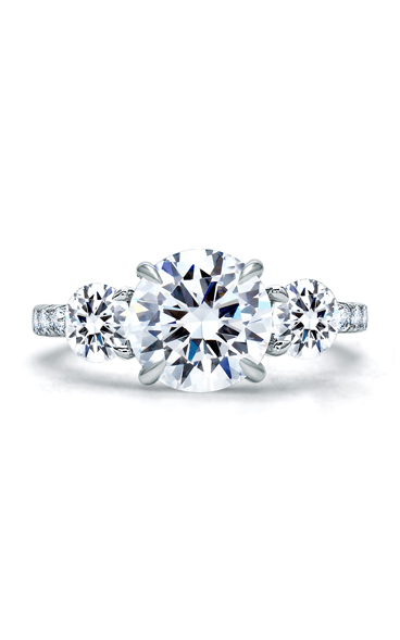 A.Jaffe Three Stone Engagement Ring ME1854Q-308 product image