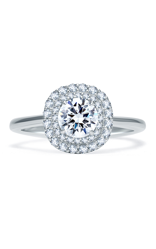 A. Jaffe Quilted Collection - 18k white gold 0.28ctw Diamond Engagement Ring, ME1864Q-103 product image
