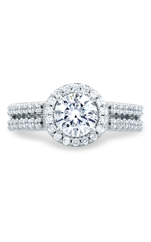 A.Jaffe Halo Engagement Ring MES687-152 product image