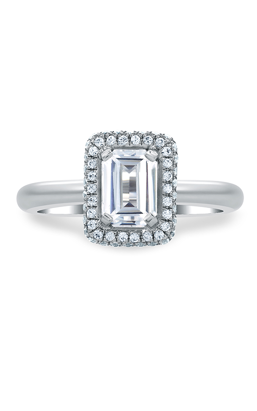 A. Jaffe Metropolitan - 18k white gold 0.34ctw Diamond Engagement Ring, MES673-134 product image