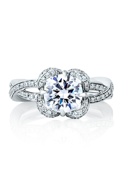 A. Jaffe Seasons of Love - 18k white gold 0.49ctw Diamond Engagement Ring, ME1623-149 product image