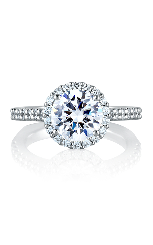 A. Jaffe Metropolitan - 18k white gold 0.25ctw Diamond Engagement Ring, MES569-110 product image