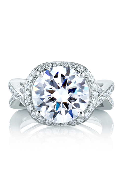 A.Jaffe Halo Engagement Ring MES405-150 product image