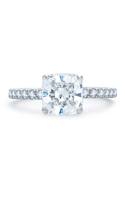 A. Jaffe Quilted Collection - 18k white gold 0.48ctw Diamond Engagement Ring, ME1851Q-248 product image