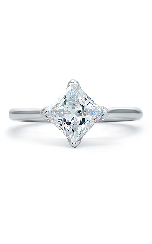 A.Jaffe Fancy Side Stone Engagement Ring ME1847Q-165 product image