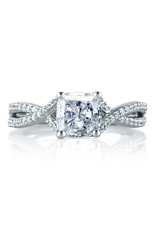 A. Jaffe Metropolitan - 18k white gold 0.27ctw Diamond Engagement Ring, MES575-77 product image