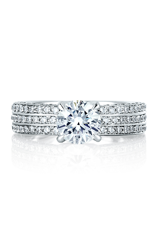 A. Jaffe Metropolitan - 18k white gold 0.69ctw Diamond Engagement Ring, MES321-169 product image