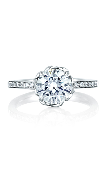 A. Jaffe Seasons of Love - 18k white gold 0.13ctw Diamond Engagement Ring, ME1640-113 product image