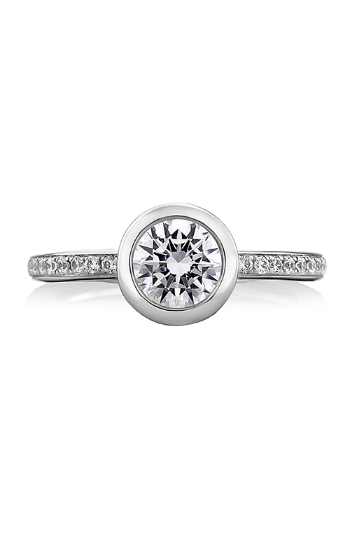 A.Jaffe Fancy Side Stone Engagement Ring MES436-67 product image