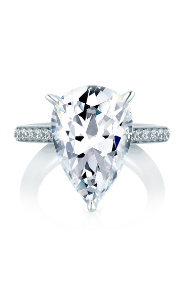 A. Jaffe Seasons of Love - 18k white gold 0.37ctw Diamond Engagement Ring, MES419-337 product image