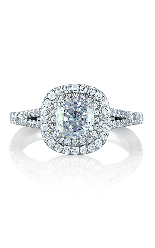 A. Jaffe Metropolitan - 18k white gold 0.56ctw Diamond Engagement Ring, MES574-156 product image