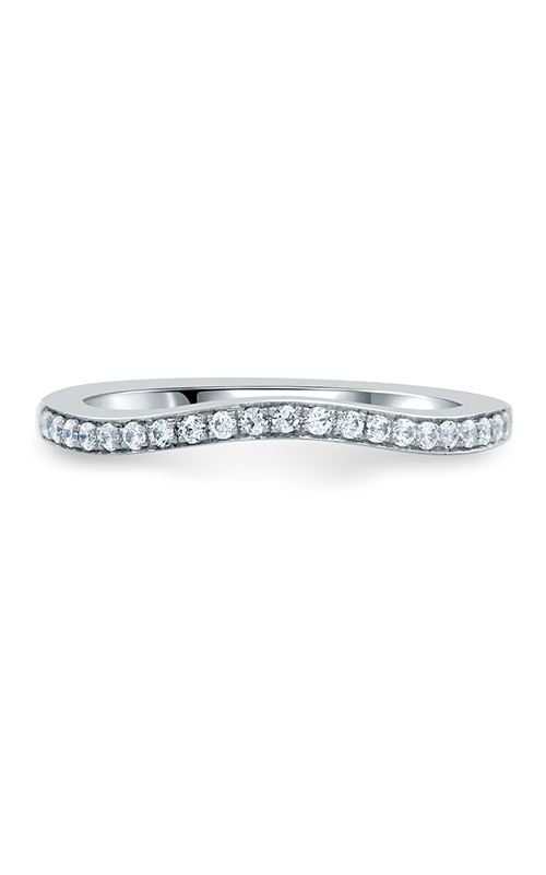A.Jaffe Delicate Pavé Bridal Wedding Band MRS680-16 product image