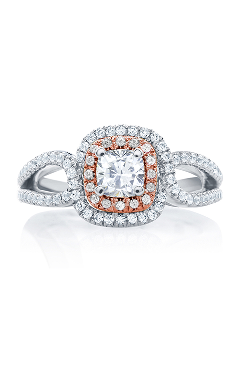 A.Jaffe Halo Engagement Ring MES629-95 product image