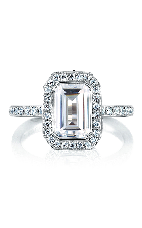 A. Jaffe Metropolitan - Platinum 0.65ctw Diamond Engagement Ring, MES493-265 product image