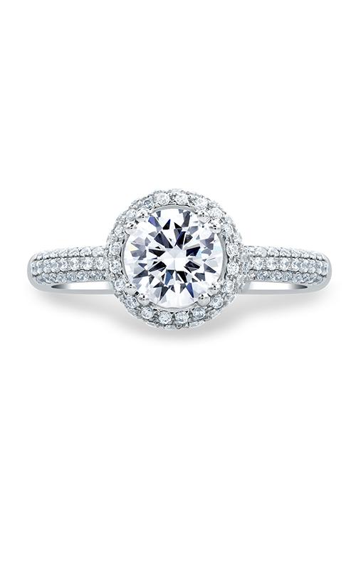 A. Jaffe Metropolitan - 18k yellow gold 0.52ctw Diamond Engagement Ring, MES674-152 product image