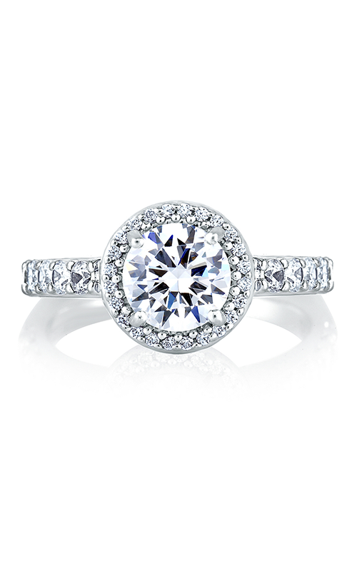 A.Jaffe Halo Engagement Ring MES168-26 product image