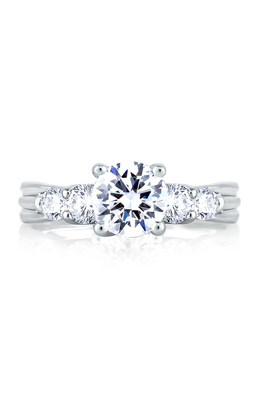 A. Jaffe Metropolitan - Platinum 0.60ctw Diamond Engagement Ring, MES030-110 product image