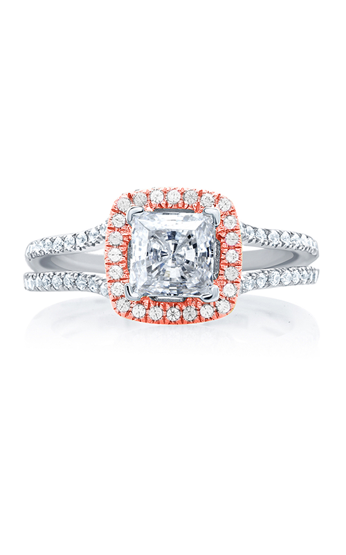 A.Jaffe Halo Engagement Ring MES632-139 product image