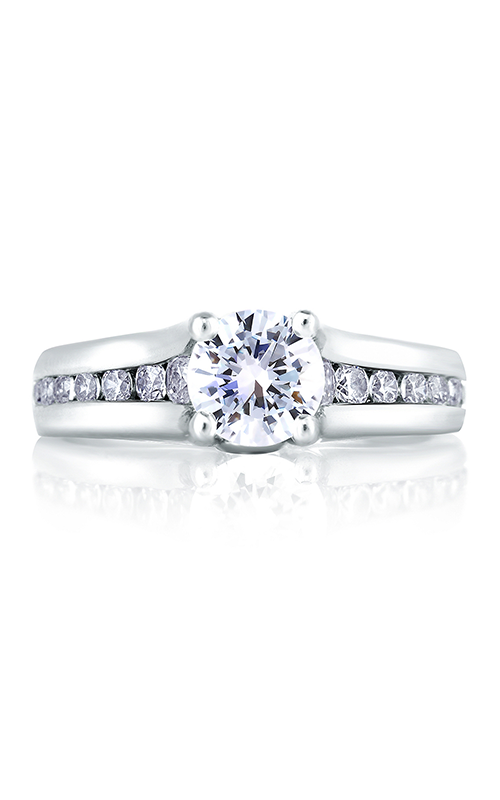 A.Jaffe Channel Set Engagement Ring MES228-159 product image