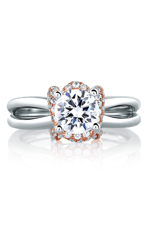 A. Jaffe Seasons of Love - Platinum 0.28ctw Diamond Engagement Ring, MES583-128 product image