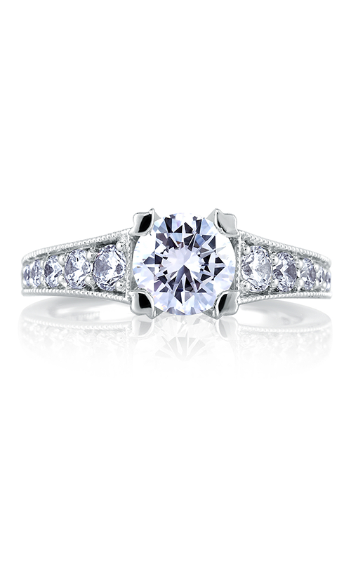 A.Jaffe Fancy Side Stone Engagement Ring MES441-155 product image