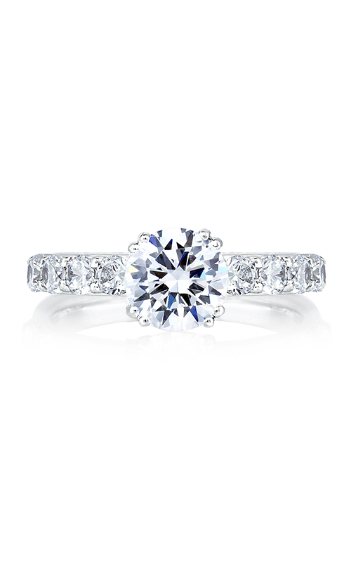 A.Jaffe Shared Prong French Pave Engagement Ring MES078-20 product image
