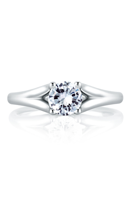 A. Jaffe Classics - 18k yellow gold 0.025ctw Diamond Engagement Ring, ME1368-52 product image