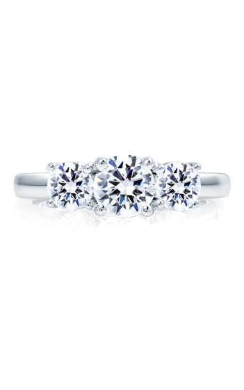 A.Jaffe Three Stone Engagement Ring ME1704-100 product image