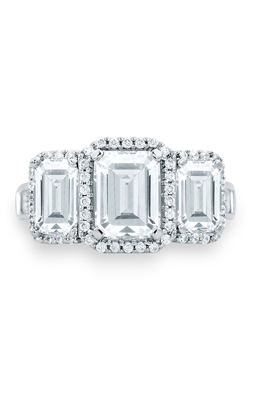 A. Jaffe Classics - Platinum 2.34ctw Diamond Engagement Ring, MES694-384 product image