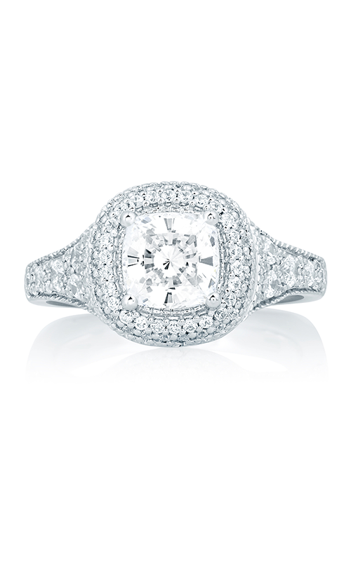 A.Jaffe Halo Engagement Ring MES641-212 product image