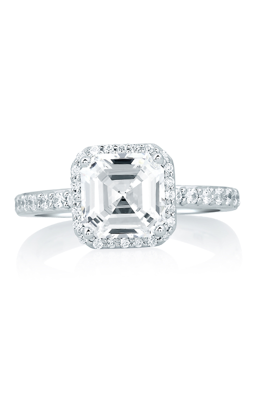 A.Jaffe Halo Engagement Ring MES639-229 product image