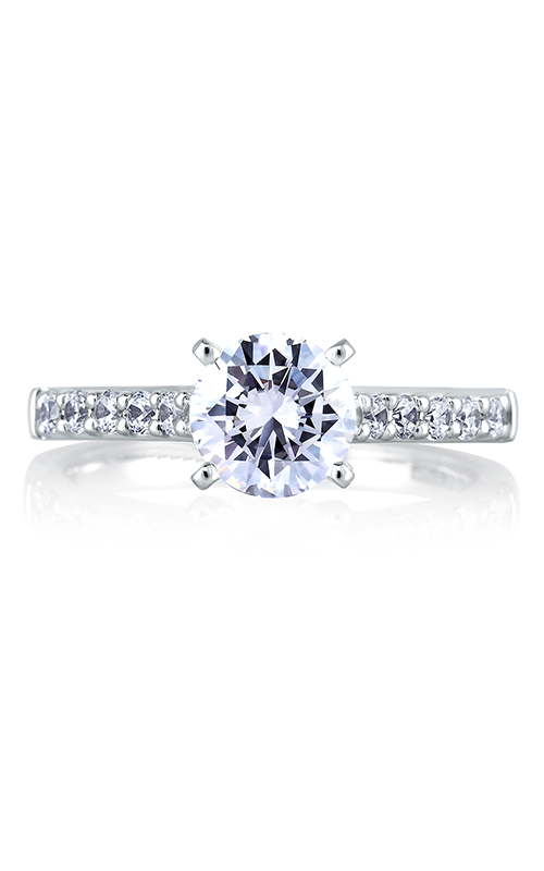 A.Jaffe Shared Prong French Pave Engagement Ring ME1353-30 product image