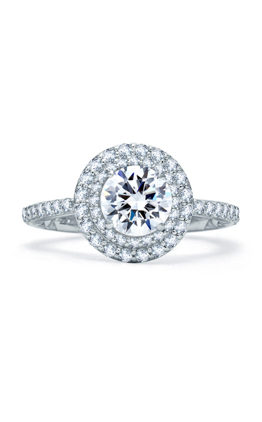 A.Jaffe Halo Engagement Ring ME1866Q-159 product image