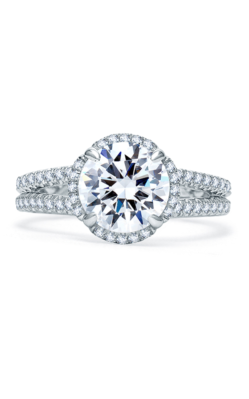 A. Jaffe Quilted Collection - Platinum 0.40ctw Diamond Engagement Ring, ME1861Q-240 product image